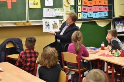 Foto zur Meldung: Besuch von Herrn Steineke