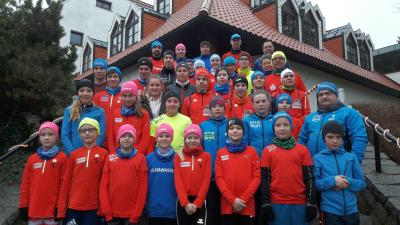 Foto zur Meldung: Wintertrainingslager auf der kalten Insel Usedom