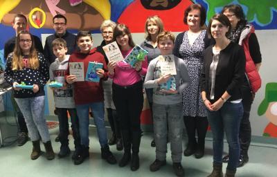 Vorschaubild zur Meldung: Till Kluge wird Sieger beim Vorlesewettbewerb der Realschule plus Am Reichswald