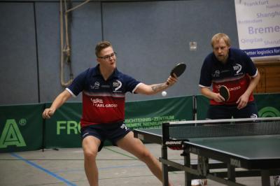 Vorschaubild zur Meldung: Gute Leistung, Keine Punkte: Tischtennisspieler überwintern auf einem Abstiegsplatz und sind dennoch stolz auf ihre Hinrunde