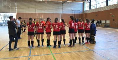 Foto zur Meldung: 3 Spiele der Weiblichen Jugend B