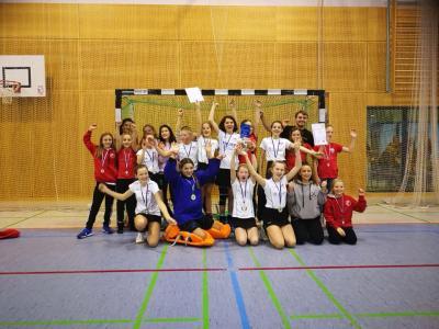 Foto zur Meldung: Erfolgreicher Landespokal der Mädchen B