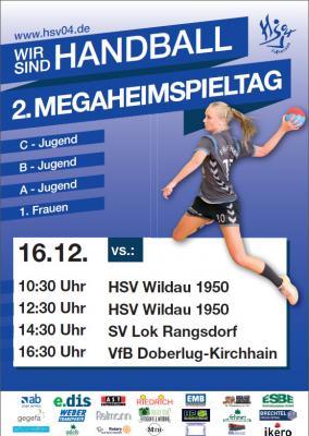 Foto zu Meldung: EINLADUNG zum 2.MEGA-HEIMSPIELTAG des Handball-Sportverein Falkensee 04 am Samstag, 16.12.2017 in die Stadthalle Falkensee +++WIR  SIND  HANDBALL+++