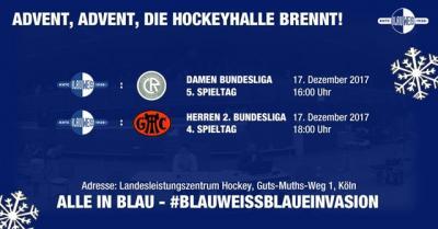 Vorschaubild zur Meldung: Hockey: Letzter Heimspieltag am 17.12. mit Spitzenspiel!!!