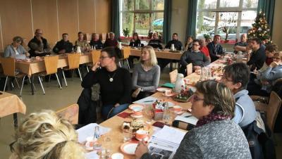 Teilnehmer des Netzwerktreffens in Kemlitz