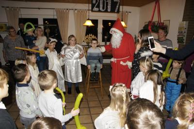 """Foto zu Meldung: Nikolausfeier im Vereinsheim des Kleingartenvereins """"Am Oelpfad"""""""
