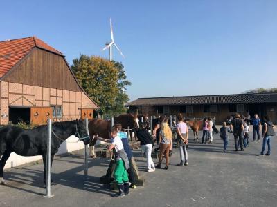 Foto zur Meldung: Unsere Woche auf dem Reitlehrgang in Freckenhorst