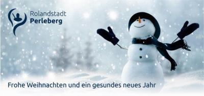 Vorschaubild zur Meldung: Weihnachtsgrüße und Jahresrückblick der Stadt Perleberg
