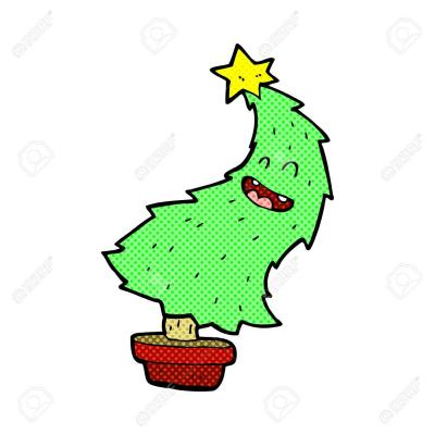"""Vorschaubild : """"Der tanzende Weihnachtsbaum"""" von Mia I. 2b"""