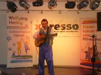 Liedermacher Wolfgang Hering