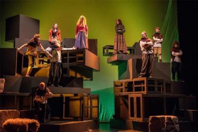 Vorschaubild zur Meldung: Don Bosco besucht das Weihnachtstheater vom Quasi So