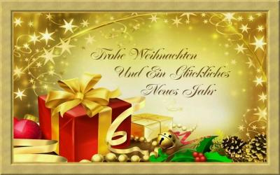 Foto zur Meldung: Frohe Weihnachten und einen guten Rutsch in das neue Jahr