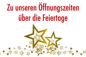 Vorschaubild zur Meldung: Öffnungszeiten der Gemeindeverwaltung, der Touristinfo und des Bauhofes während der Weihnachtsfeiertage und Jahreswechsel