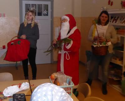 Foto zur Meldung: Der Weihnachtsmann kam an