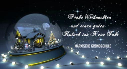 Frohe Weihnachten Und Guten Rutsch In Neues Jahr.Markische Grundschule Staatliche Europa Schule Berlin