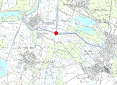 Vorschaubild zur Meldung: Vollsperrung des Ewigkeitsstegs über den Saalbachkanal