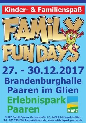 Keine Langeweile in den Ferien - am 27. Dezember starten die Family Fun Days im Erlebnispark Paaren