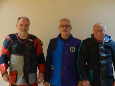 Foto zur Meldung: LG-Auflagemannschaft in die Bezirksliga aufgestiegen