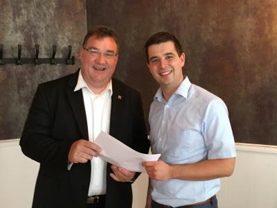 Foto zur Meldung: Miteinander-Füreinander Ottrau e.V. erhält 500 Euro aus Lottomitteln