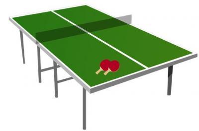 Foto zur Meldung: Tischtennis!
