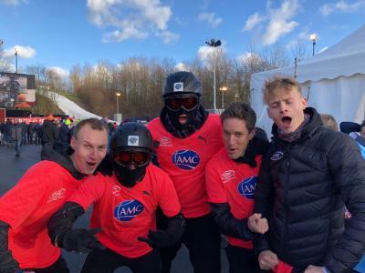Foto zur Meldung: LAZ-Athleten bei Schneeballwurf-WM