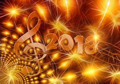 Vorschaubild zur Meldung: Frohes neues Jahr 2018 wünscht der Frauenchor Schenklengfeld
