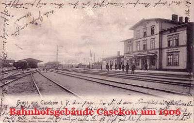 Casekow 1906 mit Dank an Axel Maruszat
