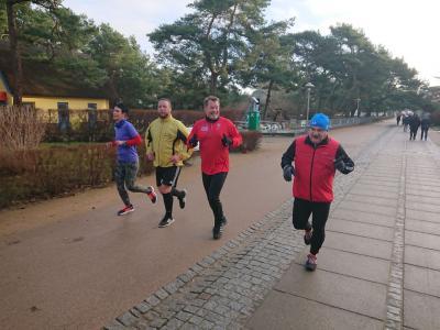 Foto zur Meldung: Silvester Kranich-Lauf mit engagiertem SC Laage