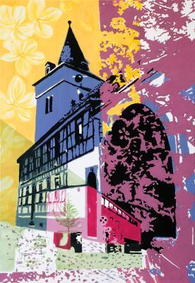"""Vorschaubild zur Meldung: Gemeinschaftsausstellung """"Maintal blüht auf"""" mit 13 neuen Kunstwerken im Rathaus"""