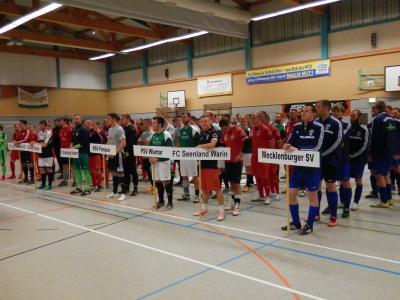 Foto zu Meldung: + + + Hallenturnier FC Seenland Warin + + +