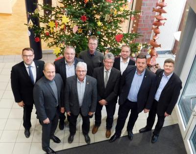 Die Hauptverwaltungsbeamten des Landkreises Helmstedt