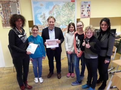 Vorschaubild zur Meldung: Bundestagsabgeordneter besuchte Grundschule in Nennhausen