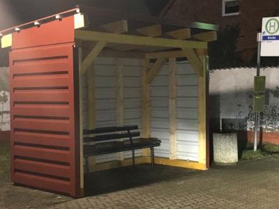 Vorschaubild zur Meldung: Schulzendorf hat wieder eine Bushaltestelle