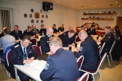 Vorschaubild zur Meldung: Führungskräfteschulung der Freiwilligen Feuerwehren der Stadt Perleberg