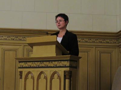 Gedenkrede der Bürgermeisterin Annett Jura | Foto: Stadt Perleberg, 2017