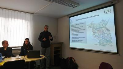 Frank Trosien vom Landesamt für Umwelt bei der Vorstellung der Regionalen Maßnahmeplanung