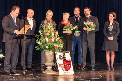 Verleihung des Silbernen Bären an den Ökumenischen Arbeitskreis Juden und Christen in Esens