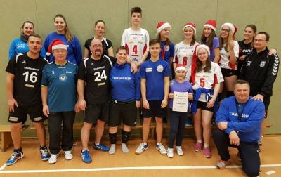 Foto zur Meldung: Weihnachts-Volleyballturnier