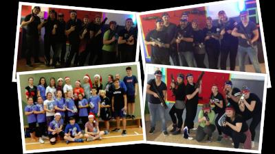 Foto zur Meldung: Laager Volleyballer: Die etwas anderen Weihnachtsfeiern