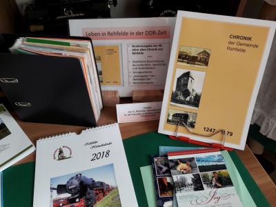Foto zur Meldung: Rehfelder Heimatstube eröffnet die Museumstage 2018 mit Jahresrückblick