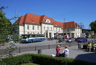 Stadt Oranienburg – Bahnhofsvorplatz – Stralsunder Straße