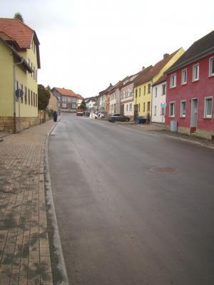 Vorschaubild zur Meldung: Münsterstraße in Mihla wurde pünktlich vor Weihnachten frei gegeben