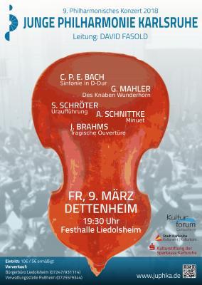 Vorschaubild zur Meldung: Das Kulturforum präsentiert die Junge Philharmonie Karlsruhe