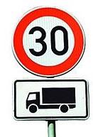 Vorschaubild zur Meldung: OT Merkers: Teilabschnitt der Salzunger Straße für LKW auf 30 km/h begrenzt