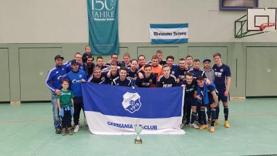 Foto zu Meldung: I. Herren - +++ Germania gewinnt 32. Auflage des WZ-Winter-Cup