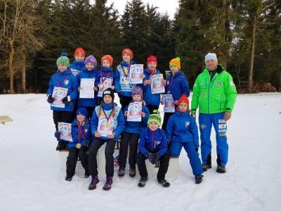 Foto zur Meldung: Thüringer Schülercup in Schmiedefeld