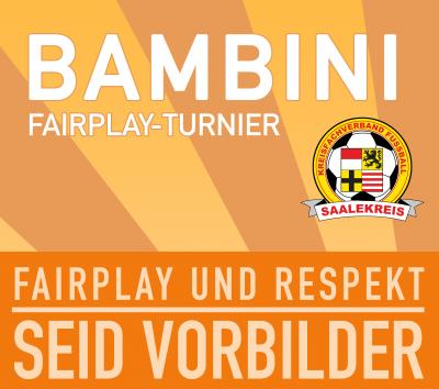 Foto zur Meldung: Mitteilung Jugendausschuss: Bambini Fair Play Turnier (Hallenturnier)
