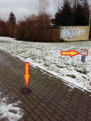 Foto zu Meldung: Hydranten sind frei zu halten!