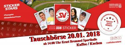 Foto zur Meldung: 20.01.2018  Tauschbörse Stickerstars