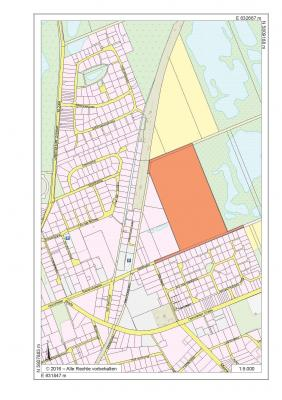 Foto zu Meldung: Siedlungsentwicklung im Ortsteil Velpke - Aufstellung eines Bebauungsplanes für das Gebiet östlich des Seniorenzentrums